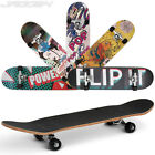Complete Skateboard Cruiser Longboard Maple Deck Wheels Grip Choice of Design