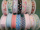 4 metres Patterned Bias Binding 100% cotton 25mm wide 15 designs to choose from