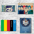 Fred Perry Art Canvas Prints - Tennis Clothing Brand Mod Style - Wall Art Gift