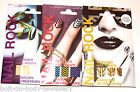 Nail Rock Designer Nail Wraps Foils Nail Art -Lasts up to 10 days - 3 designs