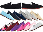 WOMENS FLOSSY FLOSSYS SLIP FLAT CANVAS PLIMSOLL PUMPS TRAINERS SHOES SIZES 2-9