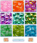 Clearance! Glass Crystal Beads Different Shape & Colours Chose Your Favourite