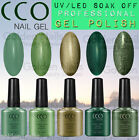 NEW CCO WINTER COLOURS UV LED NAIL GEL SOAK OFF POLISH COLOURS TOP BASE COAT