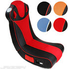 Multimedia Gaming Chair Music Games Rocker Seat Foldable Sound Choice Colour