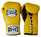 """CLETO REYES PRO-FIGHT BOXING GLOVES W FREE RIVAL 180"""" MEXICAN STYLE HAND WRAPS"""