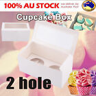 Cupcake Box Boxes 1 hole 2 hole 4 hole 6 hole 12 hole 24 hole Party Xmas Gift