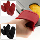 Set of 4 Heat Resistant Silicone Pot Holders Cooking Oven Mitts Gripping 500°F