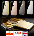 Luxury Aluminum Ultrathin Mirror Metal Case Cover for iPhone 5 5s 6 6s Plus