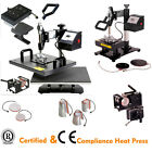Interchangeable Heating Element Combo Heat Press Sublimation Transfer Machine