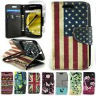 For Motorola Moto E (2nd Generation) - Design Case Wallet Pouch Protective Cover