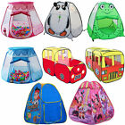 Toy Childrens Kids Pop Up Play Tent Playhouse Variety Set Playroom Outdoor Cute