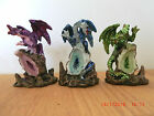 Small collectable dragons purple green or blue