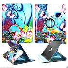 Case For Apple ipad 5 Tablets Protective Folio Cover 360 Folding Stand