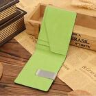 Mini Business Mens Purse Leather Magic Credit Card ID Holder Money Clip Wallet