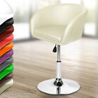 Bar Stool Dining Swivel Chair Adjustable Seat Height Choice of Colour and Set