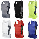 Men's Compression Skin Tight Shirt Vest Base Layer Running Athletic Gym Tank Top