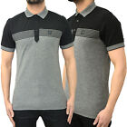 Mens Duck and Cover Polo T Shirt Designer Branded Pique Regular Fit Tee Top Flux