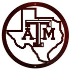 TEXAS A&M AGGIES Steel Scenic Art Wall Design