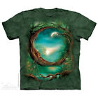 The Mountain Moon Tree Adult Men T-Shirt S-2XL Short Sleeve