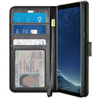 For Samsung Galaxy S8 S9 Plus / Note 9 Note 8 Luxury Leather Wallet Case Cover