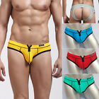 NEW Sexy Men Backless Underwear Low Rise Jockstrap Briefs Thong Shorts S M L