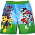 PAW PATROL CHASE MARSHALL Bathing Suit Swim Trunks NWT Size 2T, 3T, 4T or 5T $22