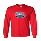Volleyball Wife and Proud of It Sports Long Sleeve T-Shirt