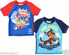 OFFICIAL FULLY LICENSED PAW PATROL 50UV+ RAYS SUNSAFE SWIM SHIRT/TOP 3-8 YEARS