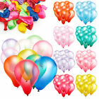 100pcs  Colorful Pearl Latex Balloon Celebration Party Wedding Birthday 10""