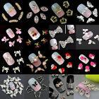 New Chic 10Pcs 3D Nail Art Glitter Decoration Colorful Alloy Rhinestones $1.54 USD on eBay