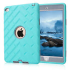 US Rugged Hybrid Heavy Shockproof Defender Hard Case Cover for Apple iPad Mini 4