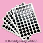132 Self Adhesive Small Magnets Dots 12.5mm Disc Round Thick Sticky Craft Magnet