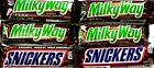 Mars Chocolate Candy Full-Size Bars Twix Snickers Milky Way M&M's Your Choice!