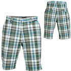 "MATIX Kenningan Walking Burmuda Shorts Men Plaid 32 & 34 NEW Med 10.5"" Skate NWT"