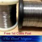 Kanthal A1 Wire 22 to 34 AWG gauge  (0.16-0.64mm),2m to 100 mtrs, Vape coil Wire