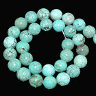 "Natural Turquoise Genstone Round Beads 16"" 4,6,8,10,12mm"