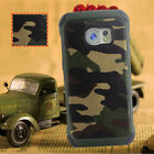 Shockproof Camo Armor Case Cover For Samsung Galaxy S7 S7Plus S7edge with Film