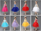Formal Lace Baby Princess Bridesmaid Flower Girl Dresses Wedding Party Dresses 2