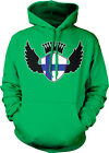 Finland Flag Shield Wings Crown Finnish Pride World Cup Hoodie Pullover