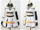 Tamari Nohara from Seraph of the End Cosplay Costume white with socks US#
