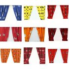 NCAA College Drapes - Sports Logo Theme Bedroom Curtain Panels - Pick Your Team