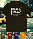 birthday presents for 4 year olds - MADE IN 1947 70th BIRTHDAY All original parts T-shirt Present Gift 70 years old
