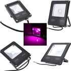 10W 20W 30W 50W LED Flood Light Plant Grow Light Hydroponic Lamp IP65 US Q8F0