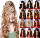 "22"" Natural Curly Wig Stylish Full Head Party Hair Women Wig Heat Resistant"
