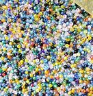 Assorted Fashion 2MM Jewelry Colorful Glass Seed Bead Mixed color m beads