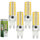 MENGS® G9 7W Silicion LED Light 72x 2835 SMD LED Bulb In Warm/Cool White