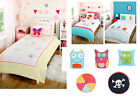 Children Duvet Bedding Kids Filled Cushions Unisex Single Fairy Monster Robot