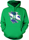 Scotland Flag Country Shape Scottish Pride World Cup Hoodie Pullover