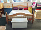 5ft King Size, Solid Pine, Antique finish, Padova Style Bed, Frame Only, SECONDS