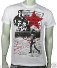 NEW Clash joe strummer punk Hammersmith Palais seditionist white tee small - 4xl